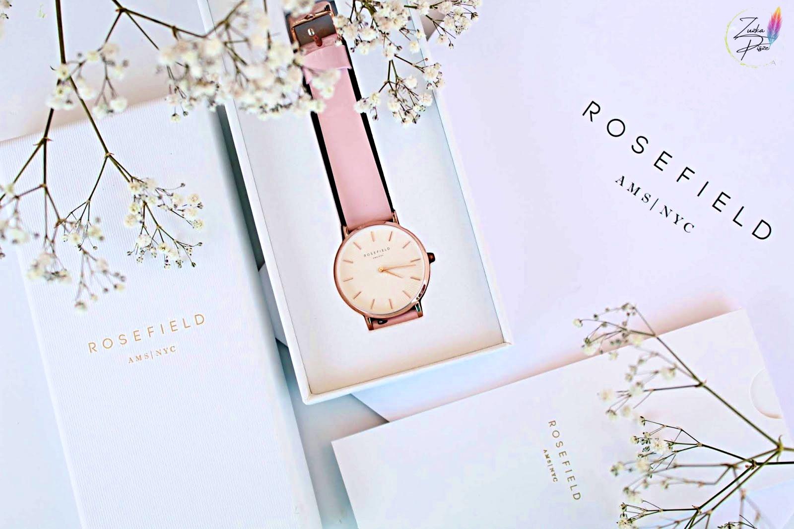 Modne zegarki Rosefield