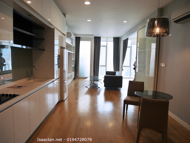 One of the units at The FACE Platinum Suites available for rent/sale