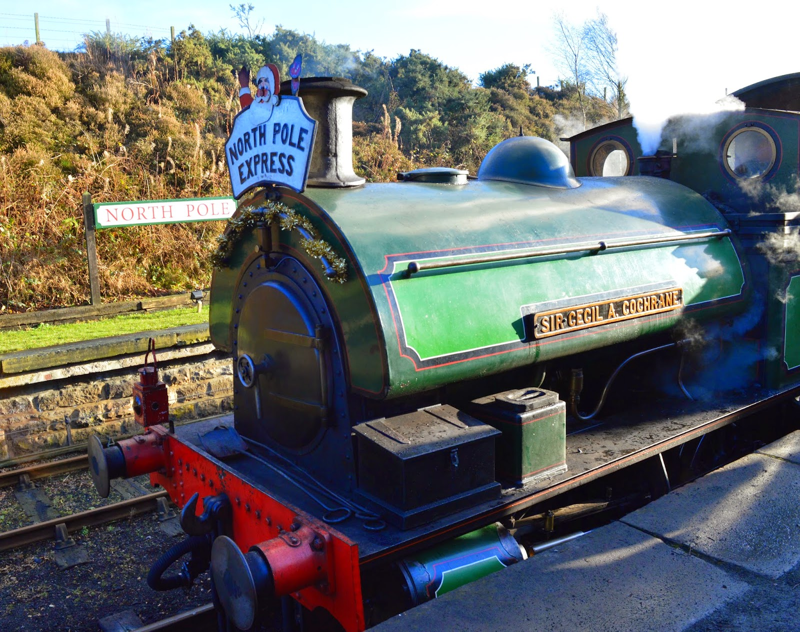 The Original North Pole Express | Tanfield Railway - A North East 'Santa Train' review