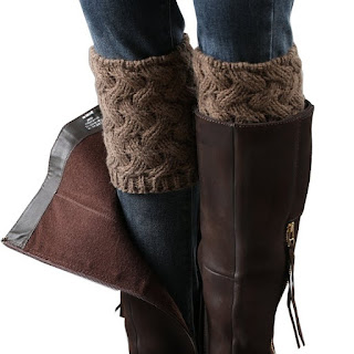 Crochet Boot Cuffs $5 (reg $7)