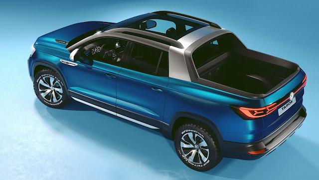 VW testa potencial de exportação da Tarok em Frankfurt