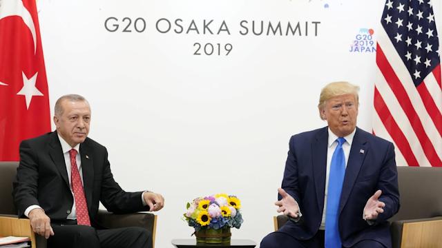 """Τραμπ: Η σχέση μου με τον Ερντογάν είναι """"πολύ καλή"""""""