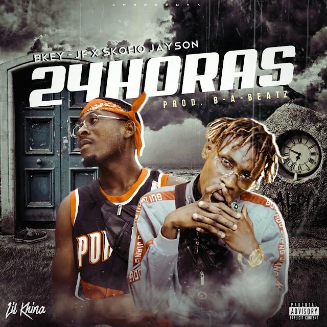 Bkey JF - 24 Horas (Feat Skofio Jayson) [Prod. Katter Record] [Rap Hip Hop] (2020)
