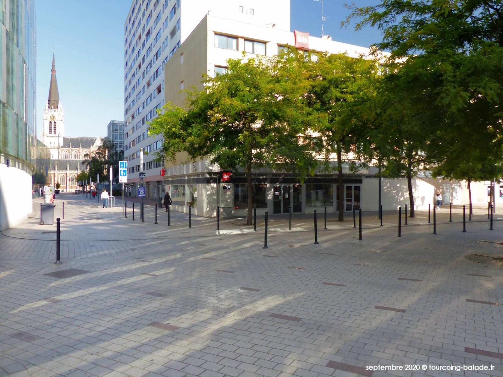 Parvis Rue d'Havré et Promenade de la Fraternité, Tourcoing