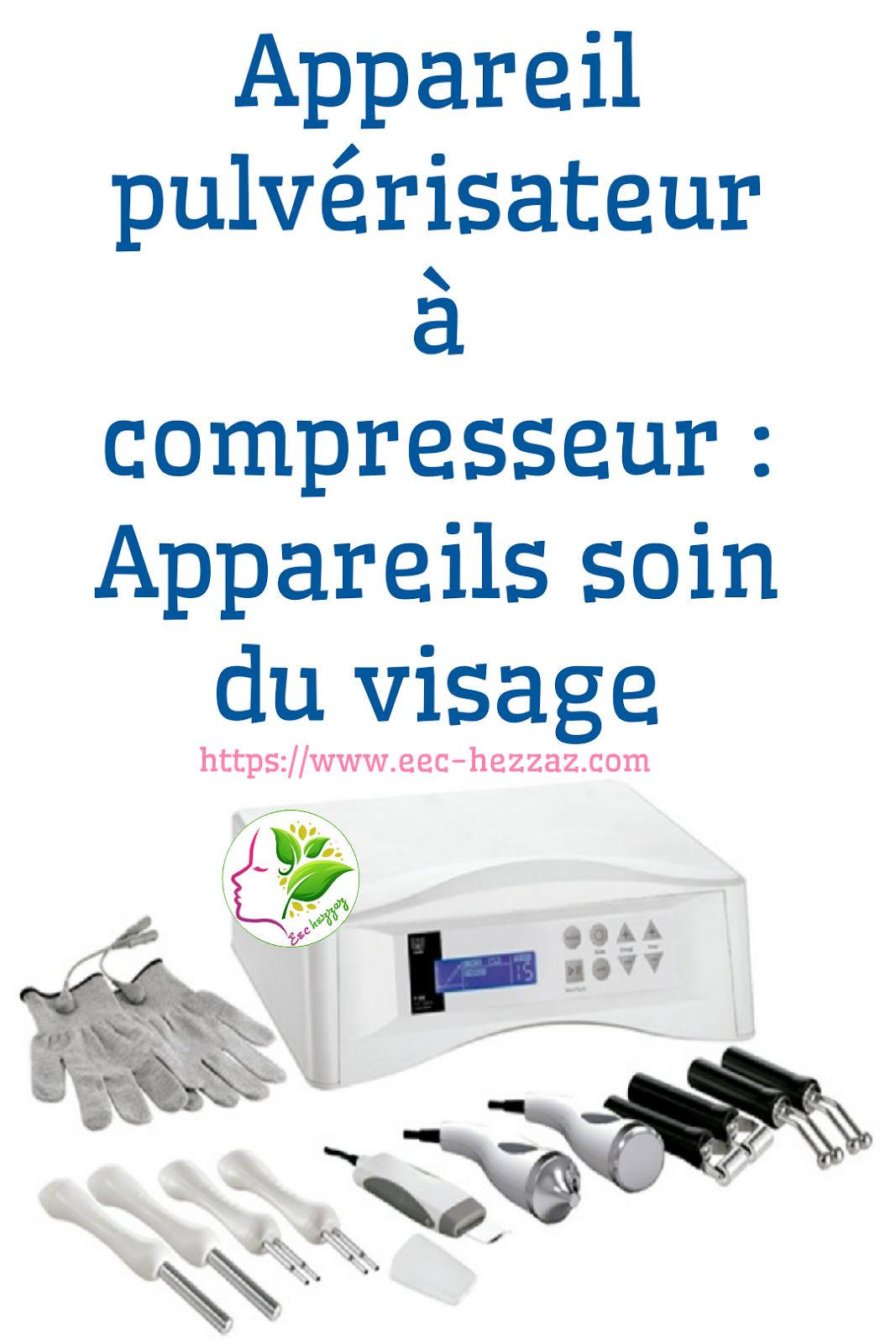 Appareil pulvérisateur à compresseur : Appareils soin du visage