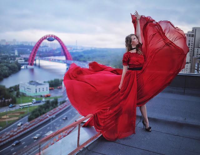 фотосессия на крыше  My dress stories ninelly