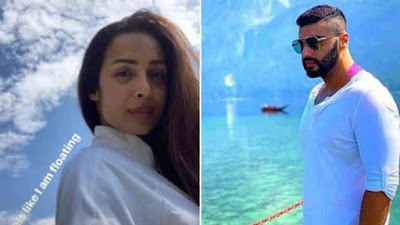 Malaika Arora Arjun Kapoor Share Vacation Photos On Social Media