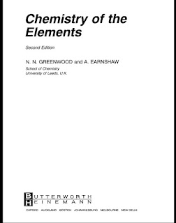 Chemistry of the Elements by N. N. Greenwood and A. Earnshaw 2nd Edition