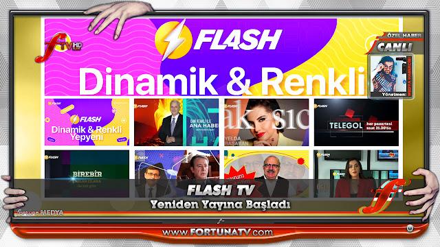 FLASH TV YENİDEN YAYINDA