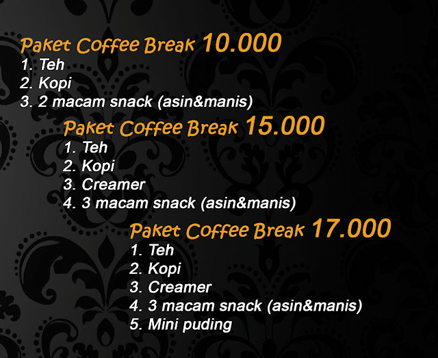paket prasmanan coffee break