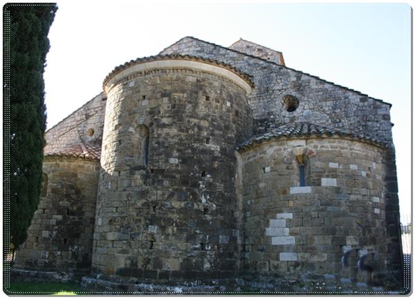 Templo de San Feliu, Beuda (Girona)