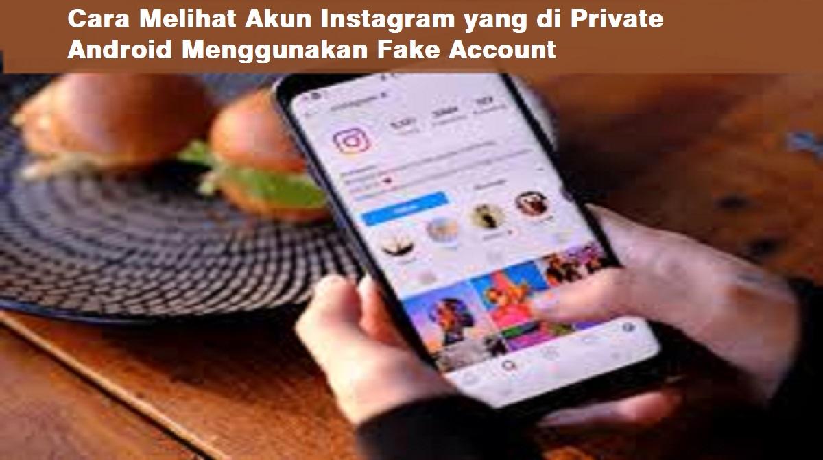 Cara Melihat Akun Instagram yang di Private Android Melalui Browser