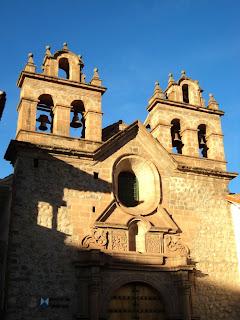 Fachada da Capilla San Antonio Abad, em Cusco