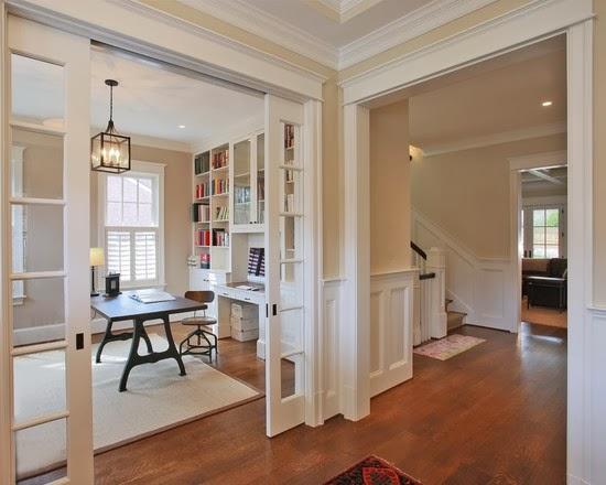 Hogares frescos 40 ideas para dise ar tu oficina en casa for Como es una oficina