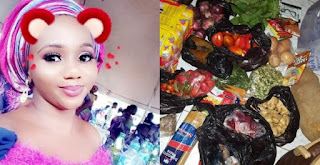 Nigerian Lady Reveals One Of The Qualities Of A Wife Material, Shows Off The Items She Bought With ₦970