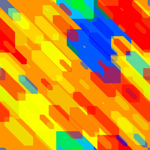 Four Color Cubic Free Seamless Tiling Patterns 4