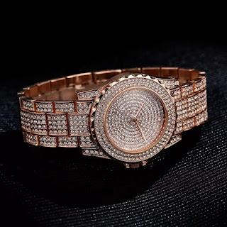 Asian Luxury Iced  Fancy Unisex Watch