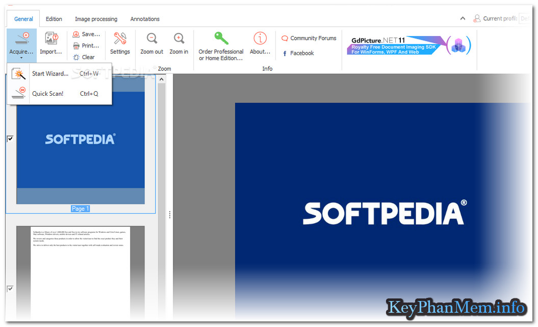 ORPALIS PaperScan Scanner Professional Edition 3.0.64 Full Key, Phần mềm hỗ trợ SCAN chuyên nghiệp nhất