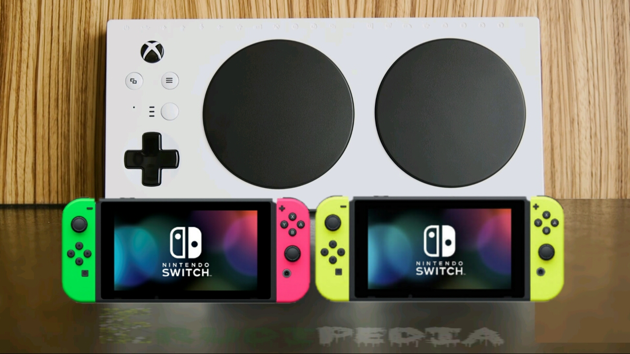 How to set and use Xbox adaptive controller on Nintendo switch
