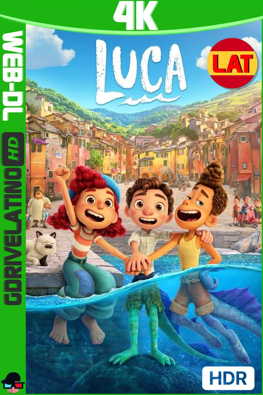 Luca (2021) DSNP WEB-DL 4K HDR Latino-Ingles MKV