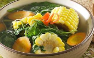 sayur bening untuk buka puasa