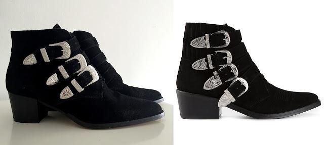 Boots Toga Pulla vs Asos