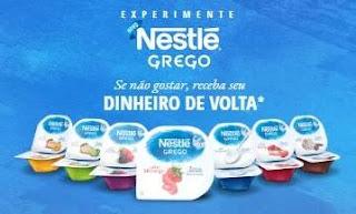 Cadastrar Promoção Novo Nestlé Grego Grátis Experimentar