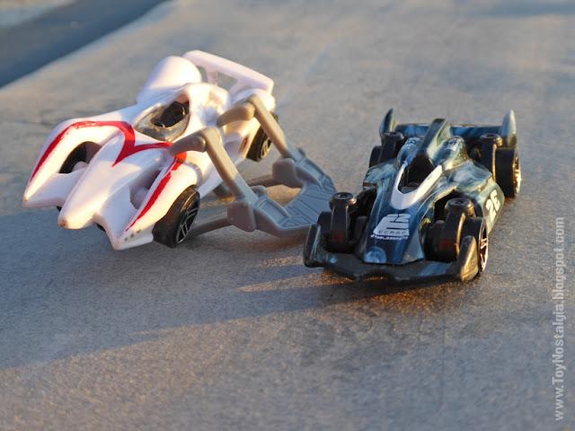 MACH 6 / Ray Ghost Car - Accesorios - METEORO - HotWheels  (METEORO - SPEED RACER - MACH Go Go Go)