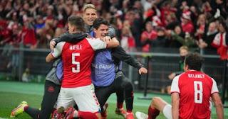 فازت الدنمارك على النمسا لتفوز بمقعد فى كأس العالم 2022.