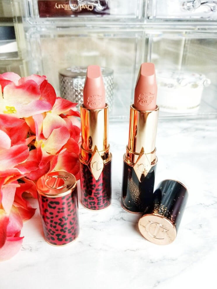 Charlotte Tilbury Hot Lips Lipstick 2 in Dance Floor Princess and JK Magic | Do They Live Up to the Hype? They Are