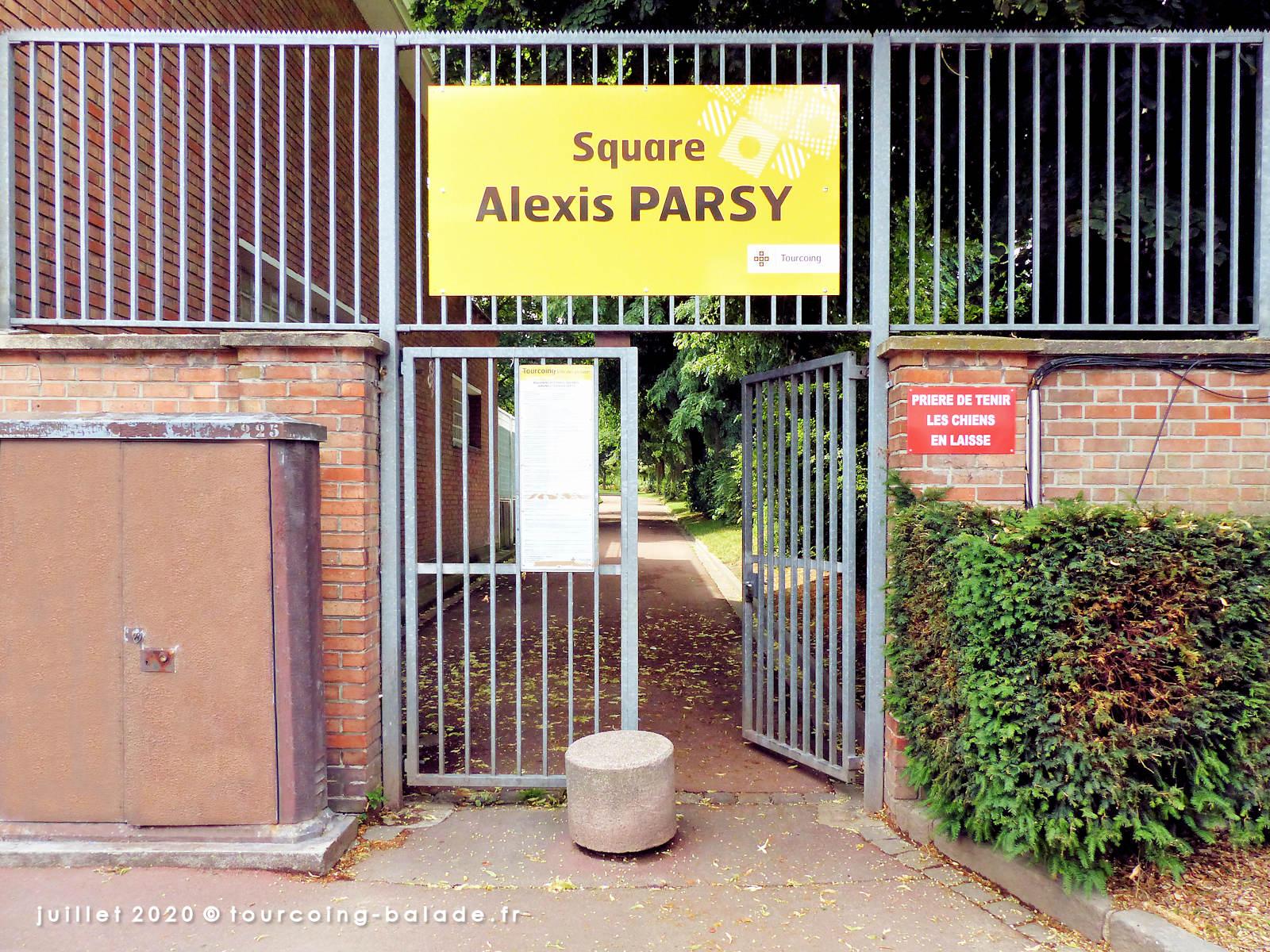 Rue de la Croix-Rouge - Entrée Square Alexis Parsy, Tourcoing 2020