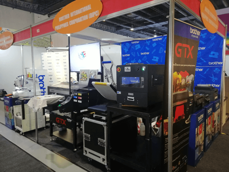 Brother Philippines launches GTX direct-to-garment printer