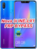 Huawei Nova 3i  INE-LX1 FRP Remove Android 9.1.0 -9.0 Downgrade Offical Stock RomFirmwareFlash file Download