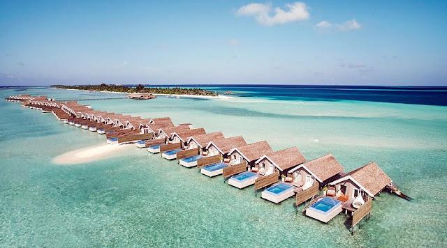 LUX* South Ari Atoll Pool Water Villa