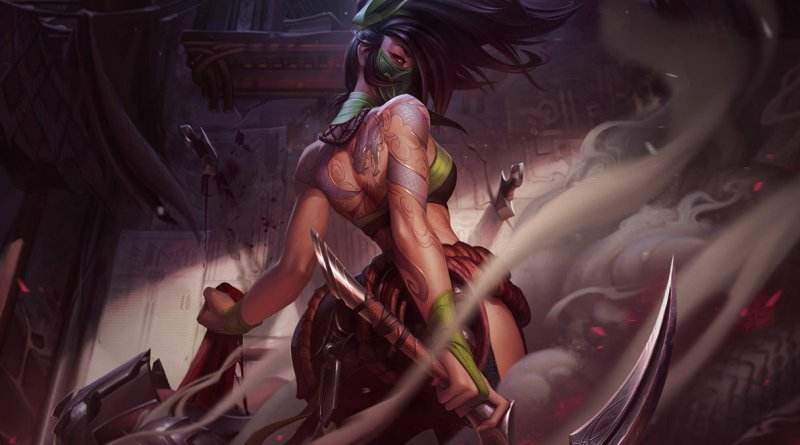 A GUIDE TO AKALI IN WILD RIFT