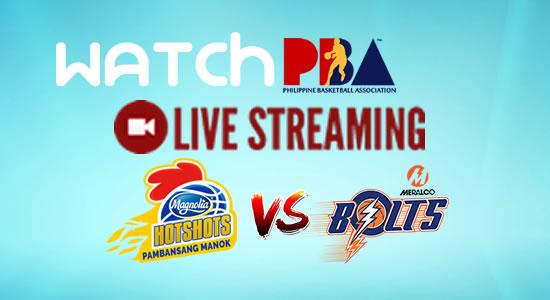 Livestream List: Magnolia vs Meralco game live streaming February 24, 2018 PBA Philippine Cup