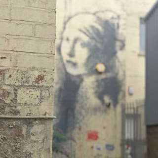 Banksy Girl With Pierced Eardrum