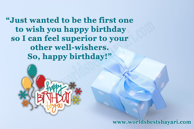First Birthday Wish