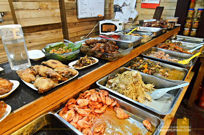 Ima's Pamangan Bataan Dining Food Trays