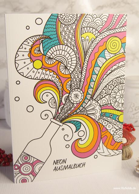Neon Ausmalbuch by Box Stories