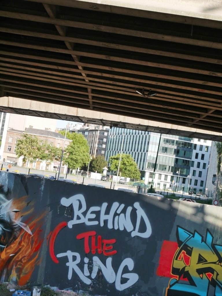 Mur d'expression libre Charleroi