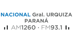Radio Nacional General Urquiza AM 1260 FM 93.1 LR 14