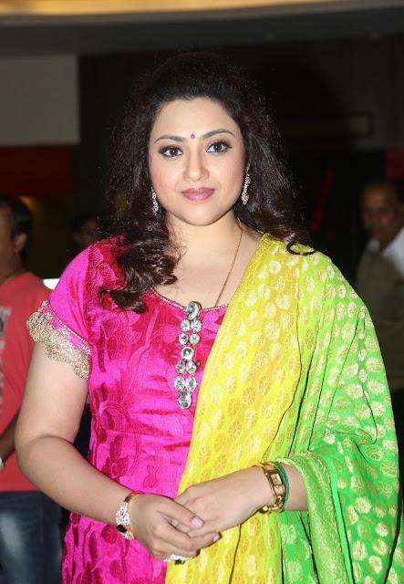 Actress Meena Latest Pics At Movie Event Navel Queens