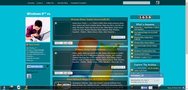 Windows 8 Collection Blogger Templates