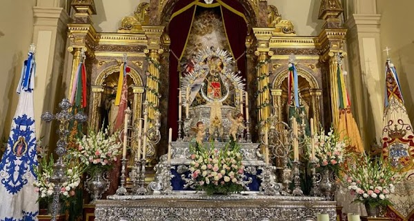 La Virgen de la Cabeza, como hace un siglo