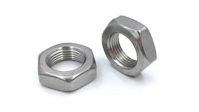 Custom M18 Stainless Steel Hex Nuts