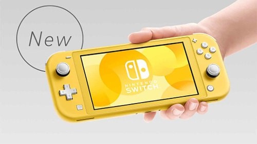Nintendo Switch Lite Hadir Sebagai Konsol Ekonomis