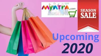 Myntra upcoming sales calendar 2020