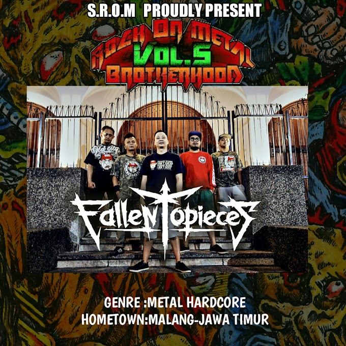FALLEN TO PIECES-ROCK ON METAL BROTHERHOOD COMPILATION VOLUME 5