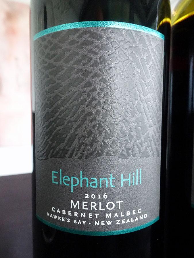 Elephant Hill Merlot / Cabernet / Malbec 2016 (91 pts)